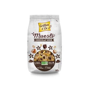 Muesli chocolat noisette bio GRILLON D'OR 356041