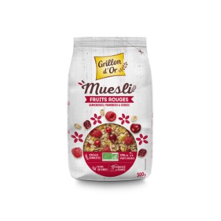 Muesli aux fruits rouge bio 500 g 356045