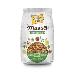 Muesli familial noisette GRILLON D'OR 356051
