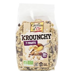 Krounchy aux 7 fruits bio 500 g 356055