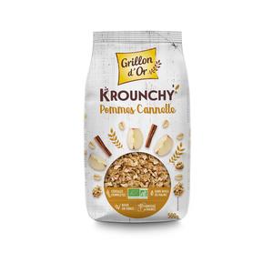 Krounchy à la pomme et à la cannelle bio 500 g 356056