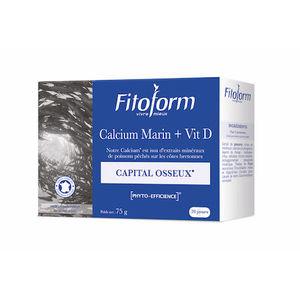 Calcium marin 60 comprimés 356114