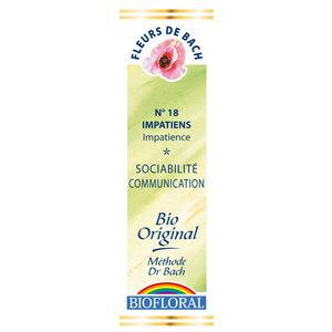 Élixir n°18 Biofloral d'impatience en flacon de 20 ml 356135