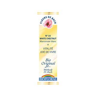 Élixir n°35 Biofloral de marronnier blanc en flacon de 20 ml 356152