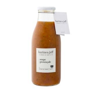 Soupe bio provençale LE BONHEUR EST DANS LE POT 356332