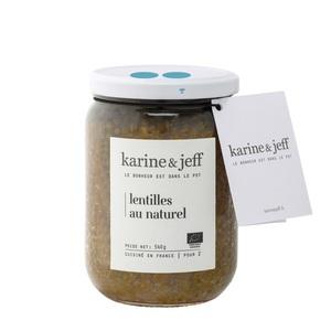 Lentilles au naturel bio 580 g 356378