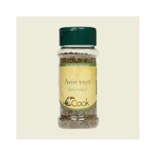 Anis vert en graines bio dans un pot de 40 g 356552