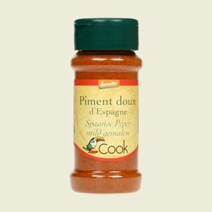 Piment doux d'Espagne bio en pot de 40 g 356586