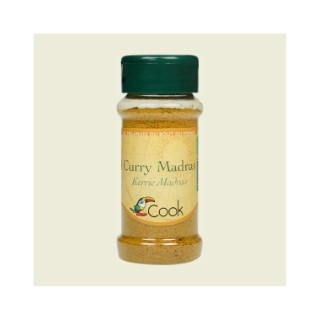 Curry bio dans un pot de 35 g 356605