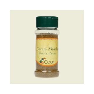 Garam masala bio dans un pot de 35 g 356606