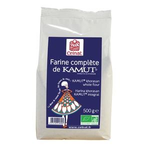 Farine complète de kamut bio en sachet de 500 g 356891
