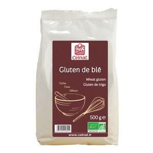Gluten de blé bio en sachet de 500 g 356902