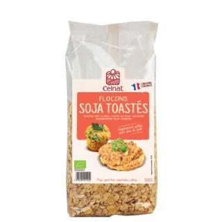Flocons de soja toastés CELNAT 500 g 356934
