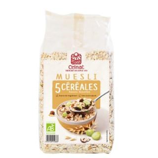Muesli 5 céréales CELNAT 500 g 356935