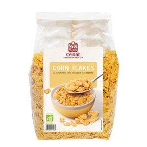 Corn flakes bio en sachet de 375 g 356946