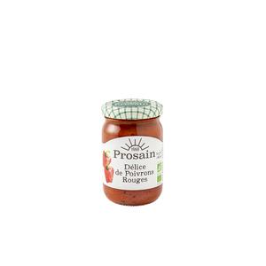 Délice bio de poivron rouge en bocal de 200 g 357352