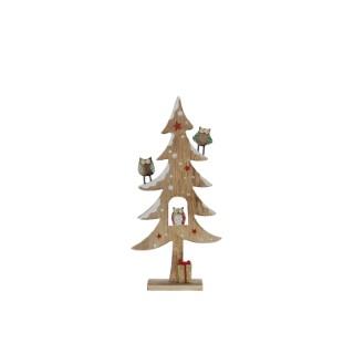 Arbre marron 31 cm 357457