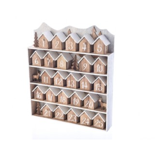 Maisons MDF calendrier avent 357781