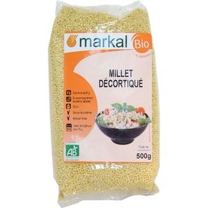 Millet décortiqué bio - 500 gr 358248