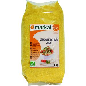 Semoule complète de maïs bio – 1 kg 358261