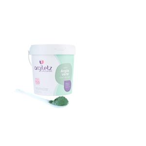 Argile verte naturelle en pâte dans un tube de 400 g 358390