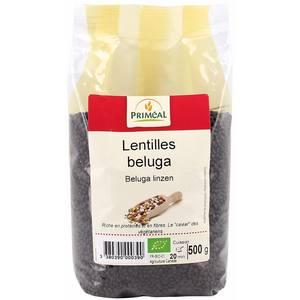 Lentilles béluga PRIMEAL 500 g 358495