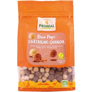 Chataign'pops bio en sachet de 200 g 358503
