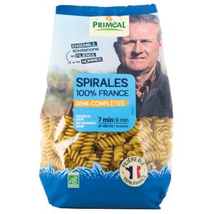 Spirales demi completes 500 g PRIMEAL 358524