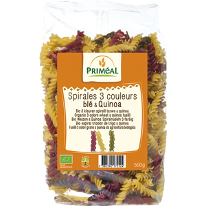 Spirales 3 couleurs quinoa 500 g PRIMEAL 358540