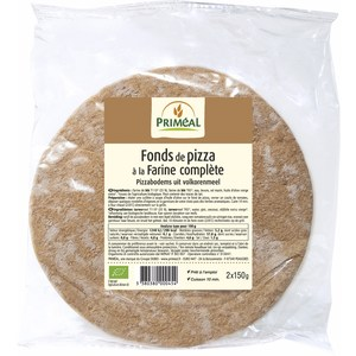 Fond pizza farine complète PRIMEAL 300 g 358577