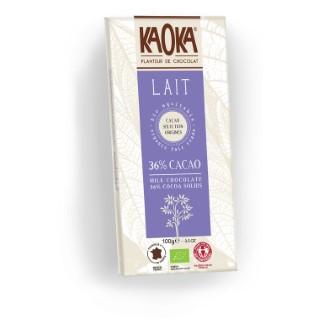 Chocolat au lait KAOKA 100 g 358662