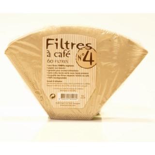 Filtres à café n°4 en boite de 60 pièces 358819