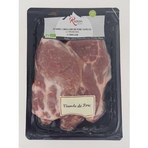 Grillades viande de porc Bio au poids 359035