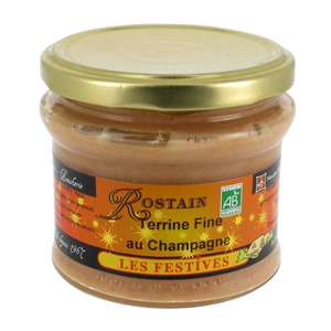 Terrine fine au champagne ROSTAIN 359110