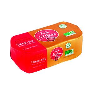Beurre baratte moulé demi-sel - 250 g 359470