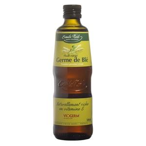 Huile vierge de germe de blé bio en bouteille de 500 ml 360002