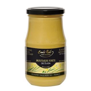 Moutarde forte de Dijon bio en pot de 200 g 360009
