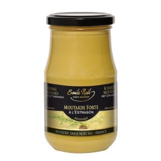 Moutarde à l'estragon bio en pot de 200 g 360058