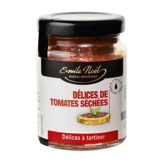 Délice de tomates séchées bio en pot de 90 g 360071