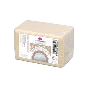 Savon blanc sous cellophane bio en format de 300 g 360099