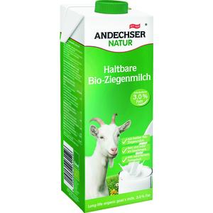 Lait de chèvre entier 3,2% en brique de 1 L 360742
