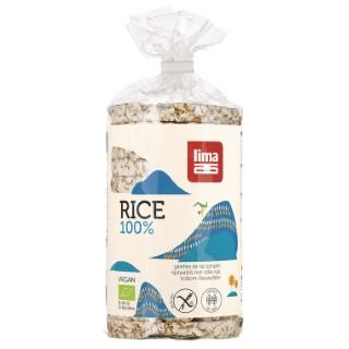 Galettes de riz complet bio au sel marin 100 g 360751