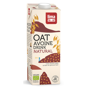 Oat drink natural boisson à l'avoine bio en brique de 1 L 360773