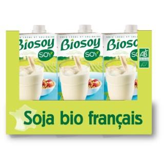 Boisson biosoy calcium 6 L 362486