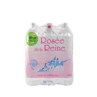 Pack eau rosée de la reine 6 x 1,5L 362532