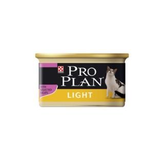 Aliment pour chat PP Wet Cat light. La boite de 85 g 363517