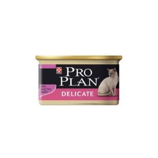 Aliment pour chat PP Wet Cat delicate. La boite de 85 g 363518