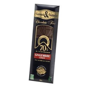 Chocolat noir gingembre SAVEUR ET NATURE 364537