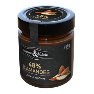 Pâte à tartiner aux amandes bio en pot de 225 g 364542