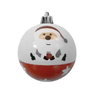 6 boules avec père Noël 366262